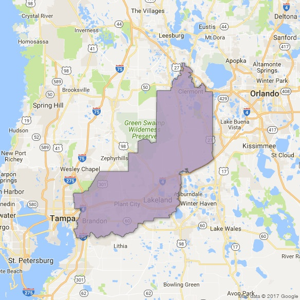 Florida District Map.Florida S 15th District Swing Left