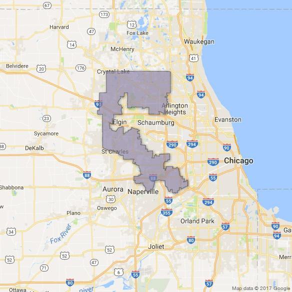 Illinois S 6th District Swing Left
